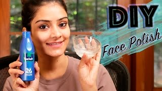 DIY Face Polish | Skincare Routine | Get Glowing Skin At Home | Remove Dead Skin Cells | Foxy Makeup