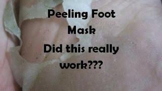 Did My Feet Peel? Magic Peeling Foot Review Tony Moly