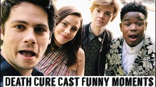 Maze Runner Cast: The Death Cure | Funny Moments