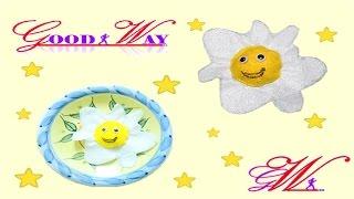 طريقة عمل بيض مقلي باستخدام قماش الجوخ \ How to Make a fried egg using cloth baize kain flanel