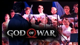 Symphony Orchestra || God of War theme song live || Overture