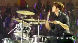 140810 CNBLUE - Can't Stop (Minhyuk Focused) @ KCON 2014