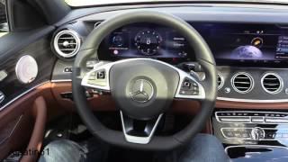 2017 Mercedes E Class   interior Mersedes E 2017 ic tasarim led aydinlatma