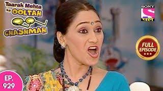 Taarak Mehta Ka Ooltah Chashmah - Full Episode 929 - 29th January, 2018