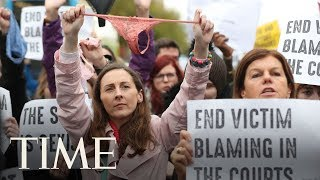 Ireland Protests After Lawyer Cites A Thong As Consent | TIME