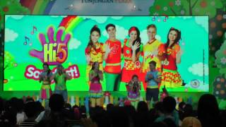 Hi-5 Songfest 2016 @Tunjungan Plaza - Surabaya