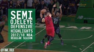 Semi Ojeleye Defensive Highlights 2017/18 NBA Regular Season