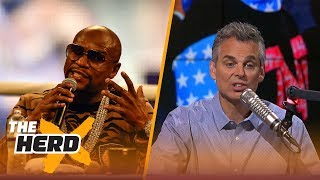 Conor McGregor vs Floyd Mayweather is a circus that both guys signed off on | THE HERD