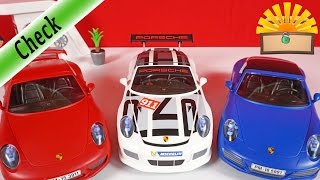 Bester PORSCHE?! Der große VERGLEICH: Carrera S vs. GT3 Cup vs. Targa 4s Playmobil Film deutsch