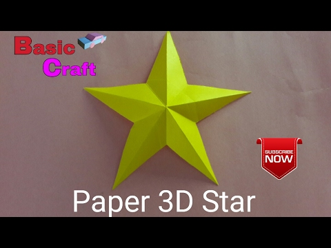 Xxx Mp4 How To Make A Paper 3D Star Easy Method कागज का 3डी तारा कैसे बनायें। 3gp Sex