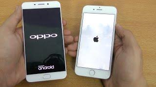 Oppo F1 Plus vs iPhone 6 - Speed Test! (4K)