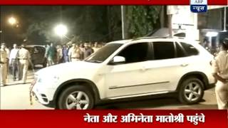 Celebs throng 'Matoshree' to see ailing Bal Thackeray