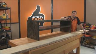 How to Build a TV Cabinet   Mitre 10 Easy As