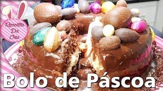 #ESPECIAL DE PÁSCOA - Bolo Prestígio de Páscoa!!