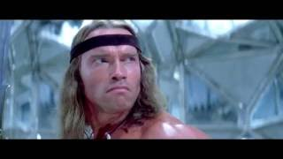 Conan vs Wizard Thoth Amon⁄Monster in Conan the Destroyer