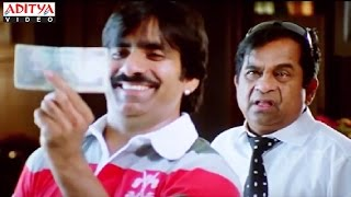Brahmanandam & Ravi Teja Best Comedy Scenes In Sabse Bada Don Hindi  Movie