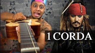 Piratas Do Caribe Com 1 Corda