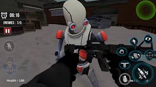 Robo Army Counter Robot Strike Robot Shooting (by TechVistaGamesStudio) Android Gameplay