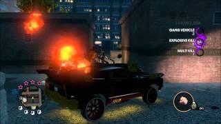 Saints Row 3 6 Star Rampage gang and Police