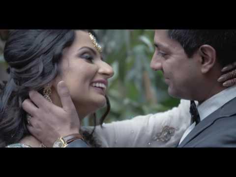 Safi and Sheema   Pakistani Wedding Reception Highlight Video 4K