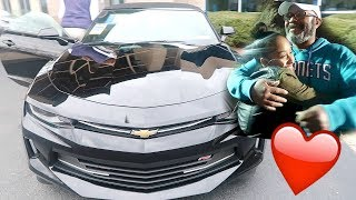I BOUGHT MY DAD A 2017 CAMARO! | VLOGMAS DAY 5