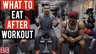 DIET tips: What should we EAT AFTER WORKOUT? Part 8 of 25 (Hindi / Punjabi)