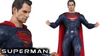 Hot Toys BvS SUPERMAN Sideshow Exclusive Figure Review