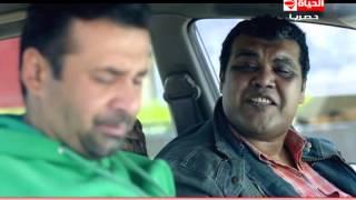 مسلسل وش تاني - مشهد كوميدي | العين فلقت الحجر ورفدت من الشغل