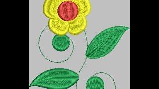 Digitizing Tutorials | Wilcom Embroidery Studio e2 Tutorial 2017-part 3 (Bangla)