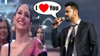 Virat Kohli EXPRESS His LOVE For Wife Anushka Sharma By Singing a ROMANTIC Song For Her