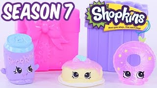 SHOPKINS SEASON 7 | Brand New Shopkins Toy Opening | Topkin Shopkins Toy Unboxing Video