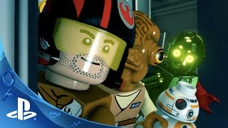 LEGO Star Wars: The Force Awakens - New Adventures Trailer | PS4, PS3