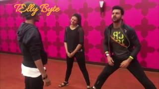 Divyanka Tripathi and Vivek Dahiya Nach Baliye 8 Behind the Scenes Masti