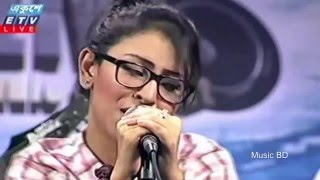 o pagol mon monre mon keno eto kotha bole Bangla Heart Touching Song by Marzia Turin Live 2016