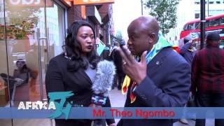 Entretien avec Mr. Theo Ngombo de l'UDPS et Mr. Didier Ibuila ECIDE a Londres .