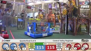 Quarterfinal 6 - 2017 Central Valley Regional