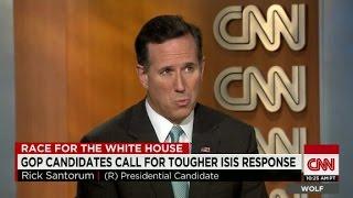 New Poll Shows Santorum Below One Percent