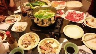New Years Chinese Hot Pot Dinner