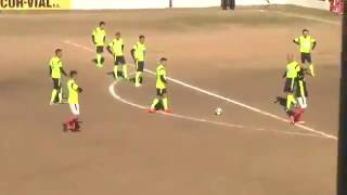 Paulo Dybala scores a freekick against 11 players standing on the goal line