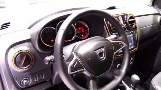 2017 Dacia Lodgy Stepway SE Limited Luxury Features   Exterior and Interior   First Look HD