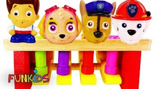 Paw Patrol Play with Wooden Preschool Toys