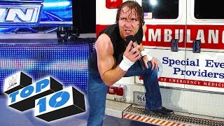 Top 10 WWE SmackDown moments - January 2, 2015