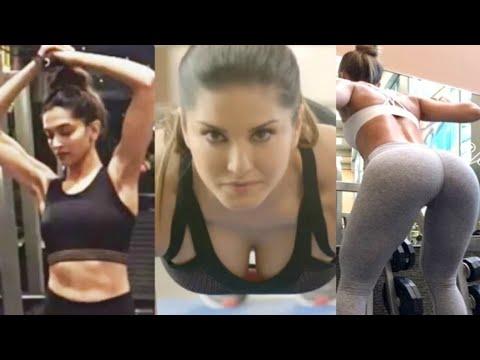 Bollywood Actress Workout 2018 Alia Bhatt, Katrina Kaif, Deepika Padukone, Bipasa Basu, Sunny Leone