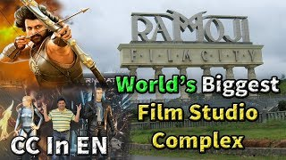 Ramoji Film city Hyderabad   Bahubali set & more