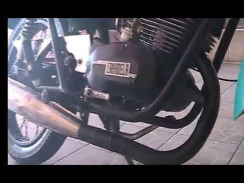 Motocicleta Carabela 125 CC mod 1976
