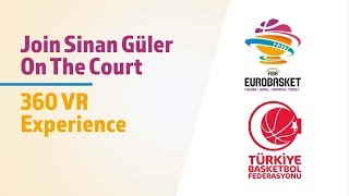 Join Sinan Guler on the court by VR-Masters