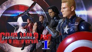 (SPANISH)Capitan America Guerra Civil Stop Motion PARTE 1