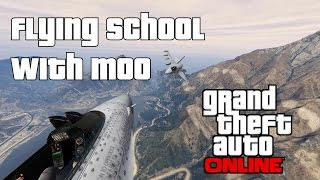GTA Online - Flying School With Moo