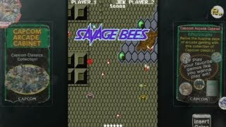 CGR Undertow - SAVAGE BEES (CAPCOM ARCADE CABINET) review for PlayStation 3