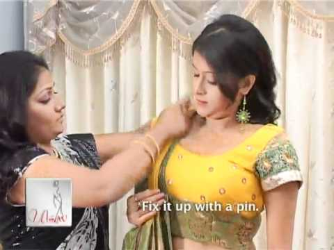 How to Wear Gujarati Style Saree?